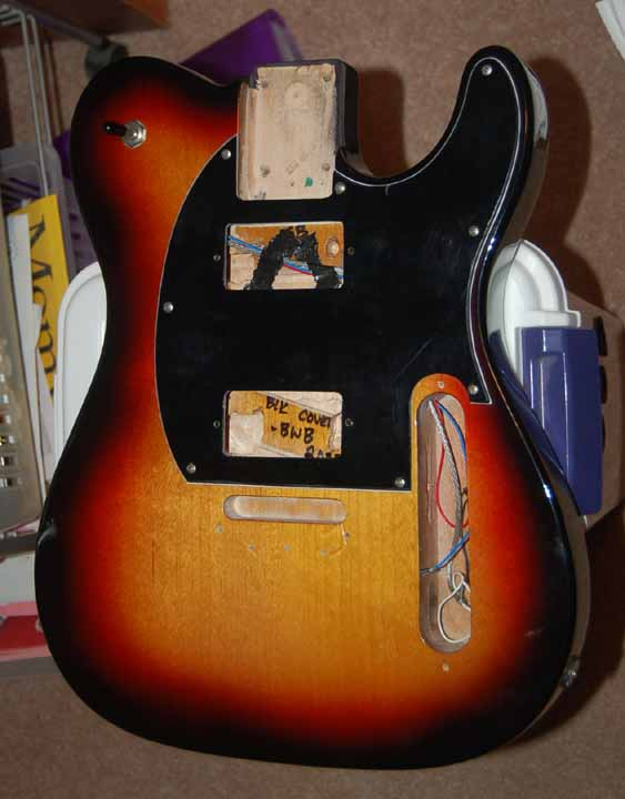 G&L ASAT modding project G L Asat Special Wiring Diagram on