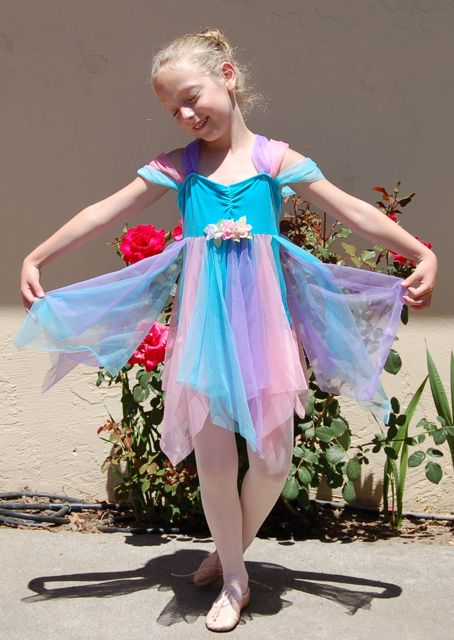 Dressed for the ballet recital